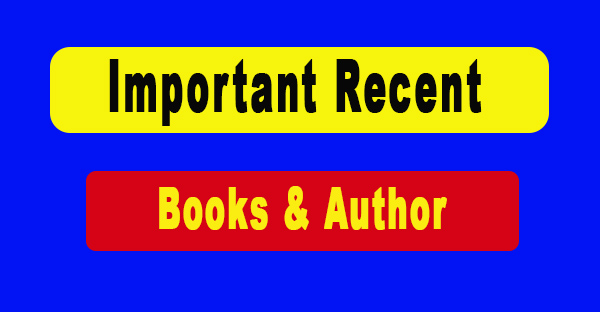 Important Recent Books & Author
