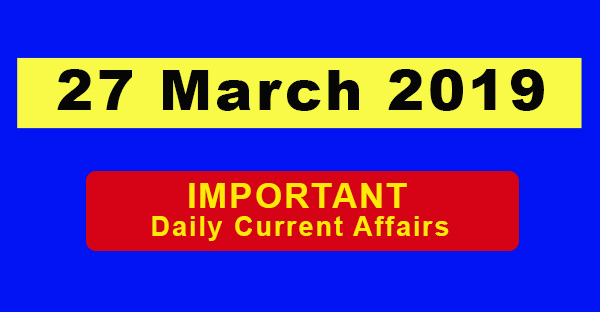 27 march current affiers