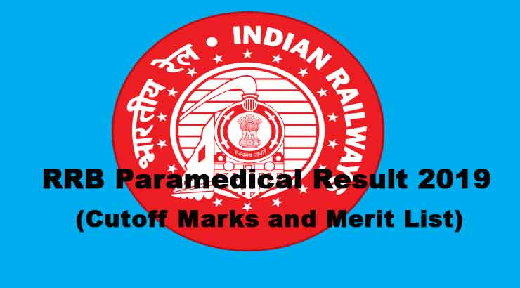 RRB Paramedical Result