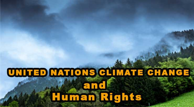 United Nations Climate change and Human Rights