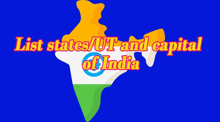 states and capital of India
