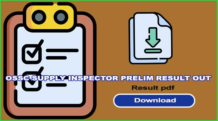 OSSC Supply Inspector Prelim Result