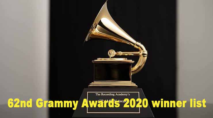 Grammy Awards 2020 winner list