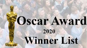 oscar award 2020 winner list