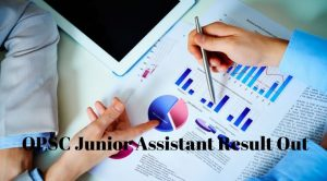OPSC Junior Assistant Result Out