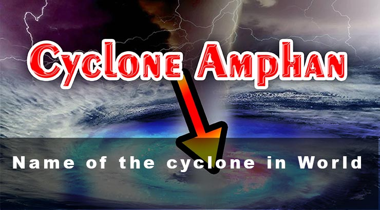 Name of the cyclone in World