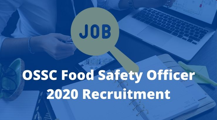 OSSC Food Safety Officer 2020