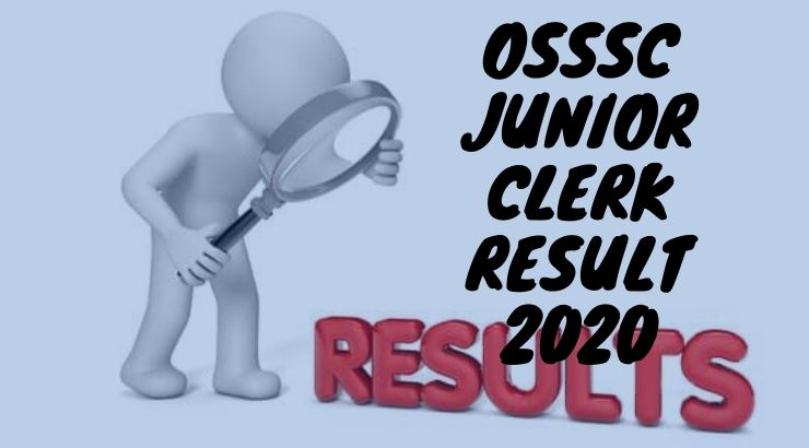 OSSSC Junior Clerk Result 2020