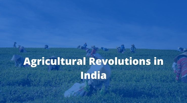 Agricultural Revolutions in India