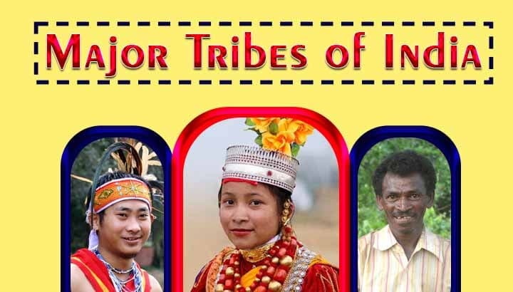 List of major tribes in india