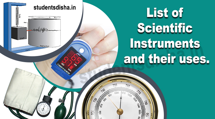 Measuring Instruments and Their Uses